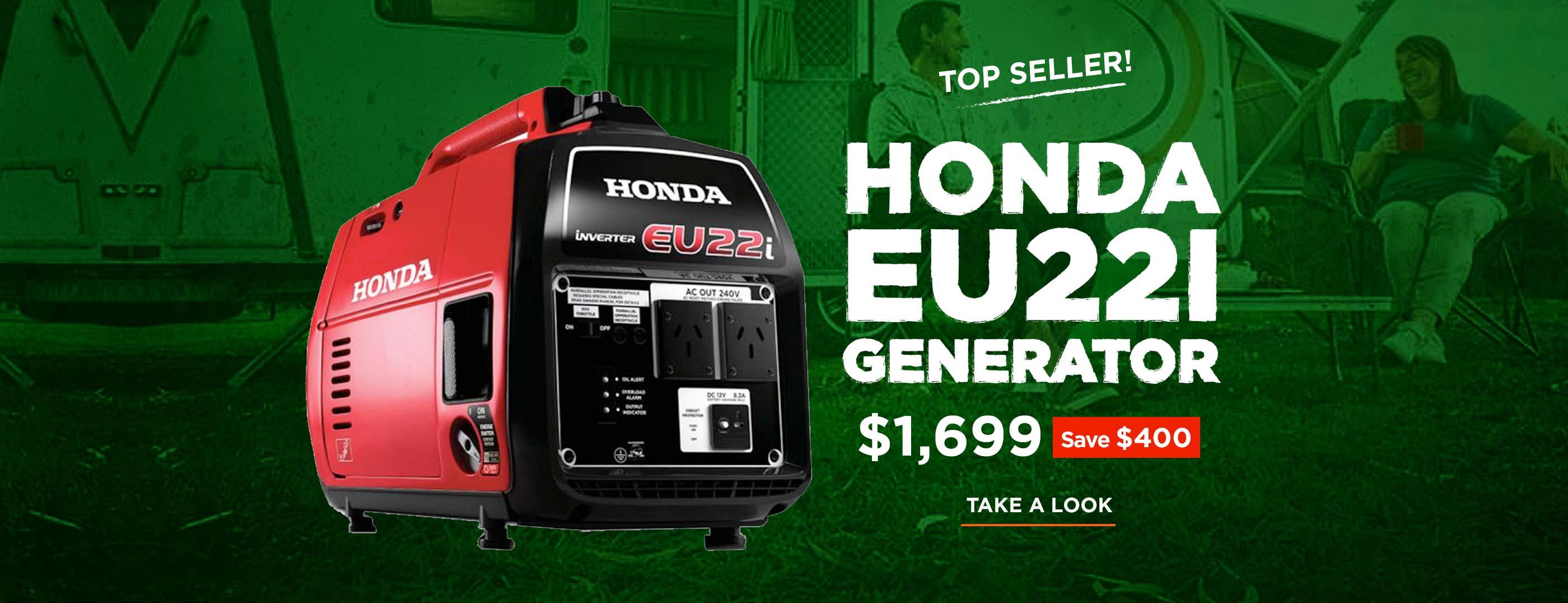 Honda Eu22i Generator save $400, only $1,699!
