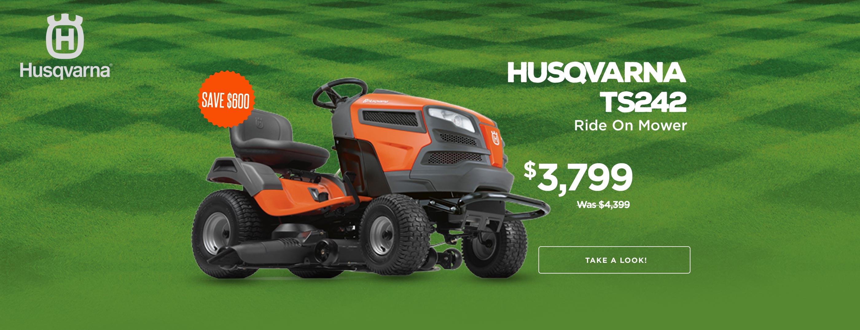 Husqvarna TS242 Huge $400 in Savings!